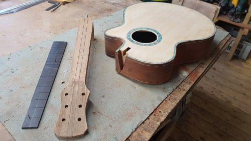 build your own acoustic guitar guitar making. Black Bedroom Furniture Sets. Home Design Ideas