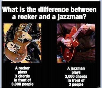 rock v jazz